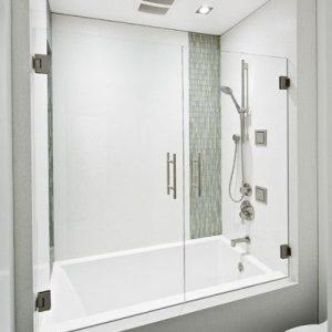 One Piece Tub & Shower