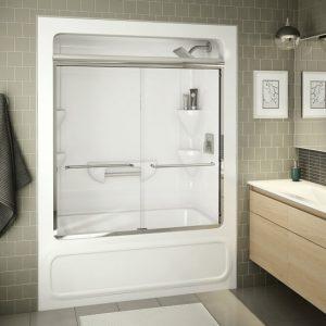 Tub & Shower Split